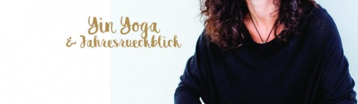 Ausgebucht – 30. Dezember 2018 11-14h –  Yin Yoga und Jahresrückblick mit Saskia Schreiber / Flingern