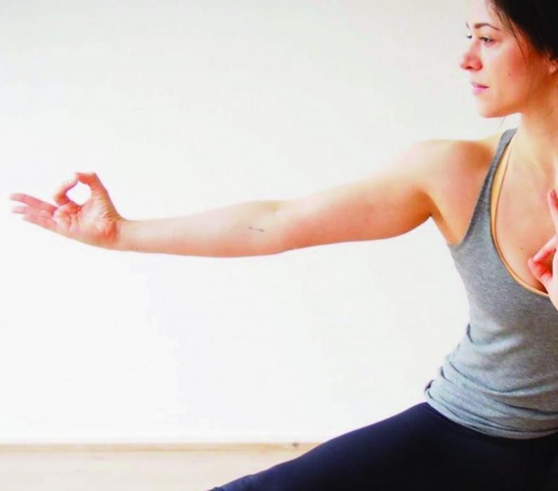 17. Februar 2018 – 17:00-19:30 –  RECONNECT Yoga & Ayurveda Workshop mit Marjorie Favre / Flingern
